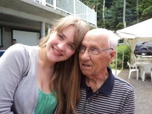 Emma et son grand-papa, version masculine de Vanessa