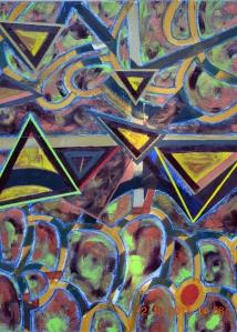 Motifs triangulaires