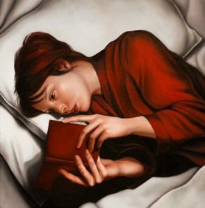 Lire au lit dans cette position me donnerait mal à la tête, et au cou.