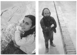 Ana Mendieta et Carl Andre