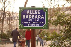 La belle Barbara, née le 9 juin 1930, décédée le 24 novembre 1997.