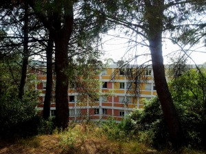 La résidence universitaire de Cuques à Aix-en-Provence.