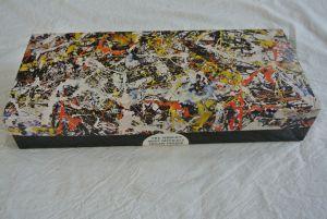 Autre manière d'aborder l'hiver par grand froid : un casse-tête de 1000 morceaux d'une toile de Pollock...