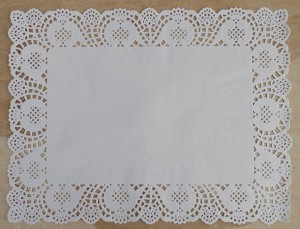 12-15-7-pouces-Rectangle-Blanc-dentelle-Napperons-de-Papier-sulfuris-G-teau-Alimentaire-Pad-De