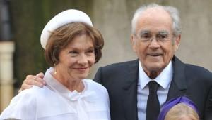Macha Meril et Michel Legrand se marient - Paris